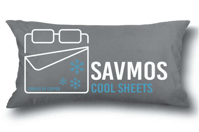 Savmos Sheets Can Regulate Your Body Temperature & Fight Bacteria
