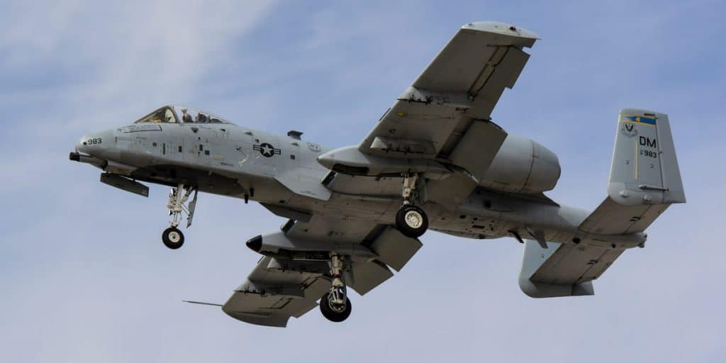 This A-10 Warthog Was Fixed By Working From Home US Air Force Engineers