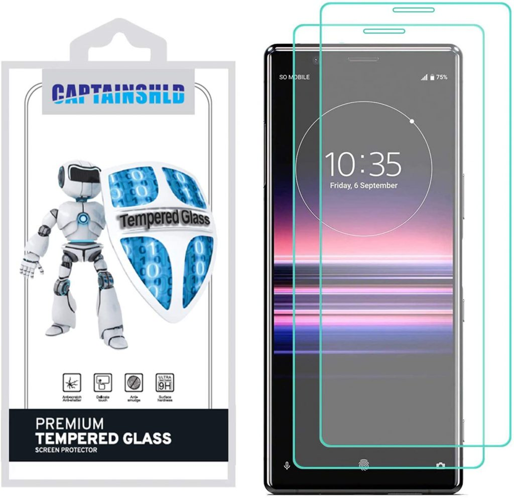10 Best Screen Protectors For Sony Xperia 10 II