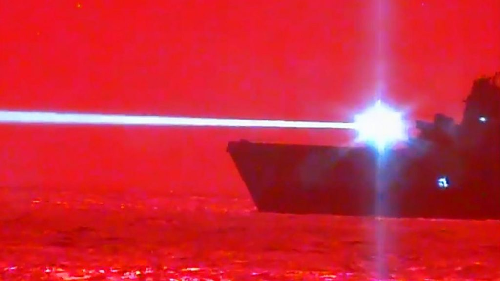 The US Navy Took Out An Aircraft Mid-Flight Using Lasers