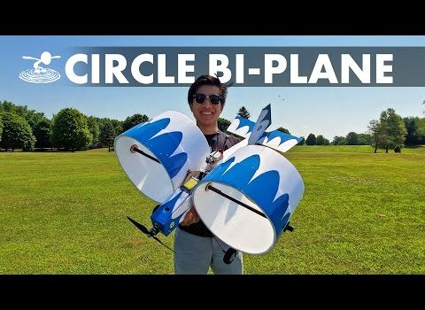Flite Test Built And Flew A Plane With Circle Wings