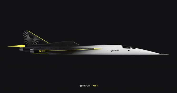 Boom's XB-1 Is The World's Next Non-Commercial Supersonic Aircraft