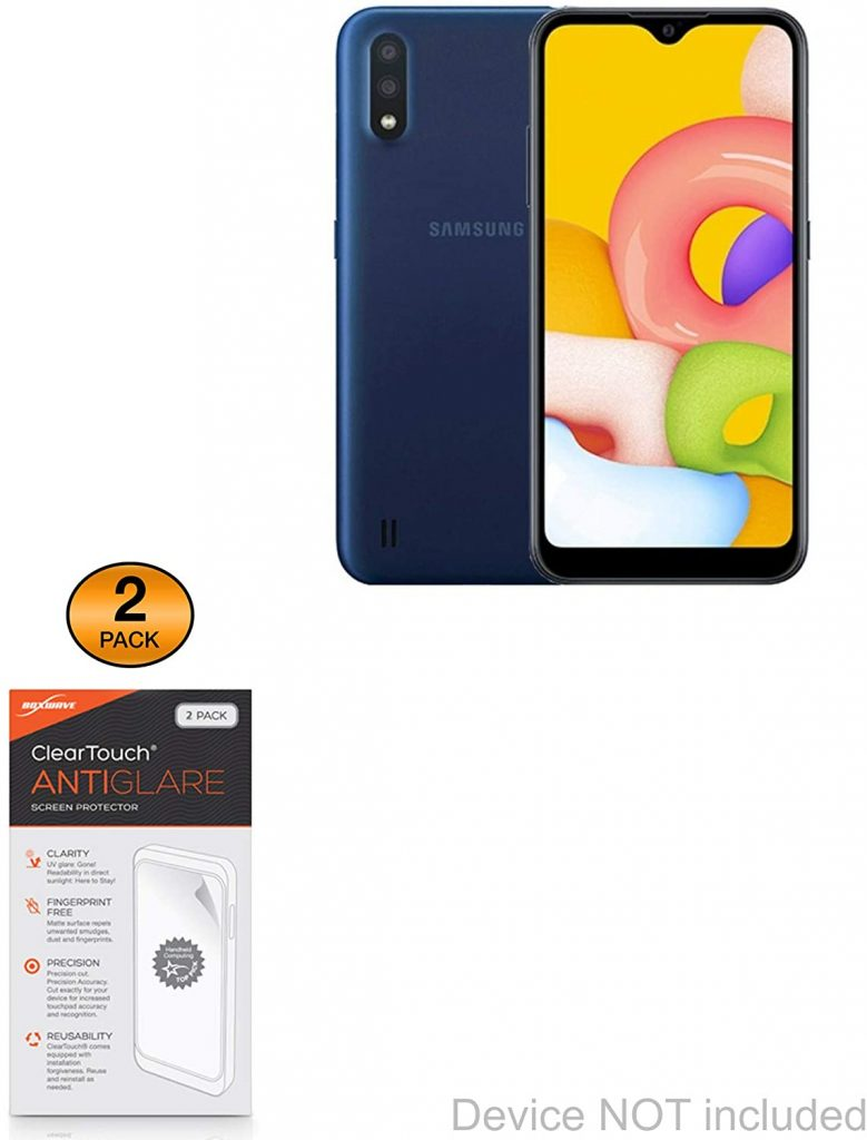 10 best screen protectors for Samsung Galaxy M01