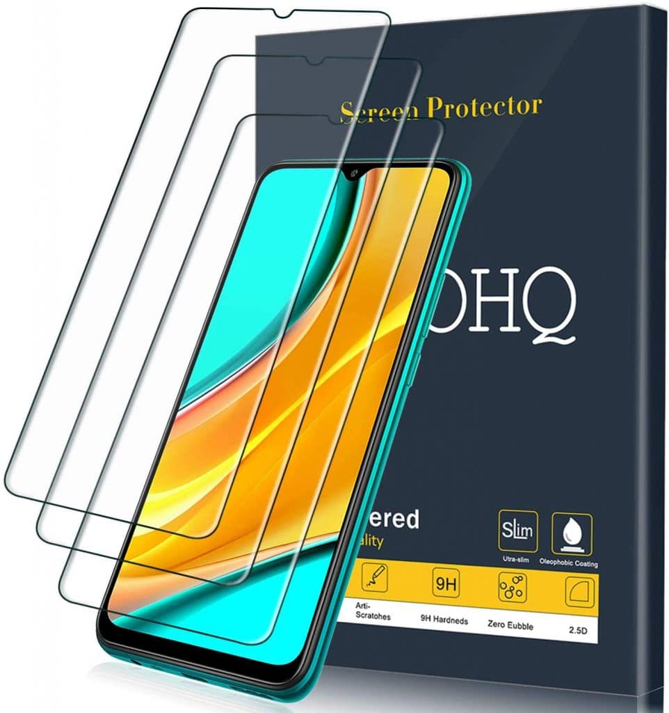 10 best screen protectors for Xiaomi Redmi 9A.