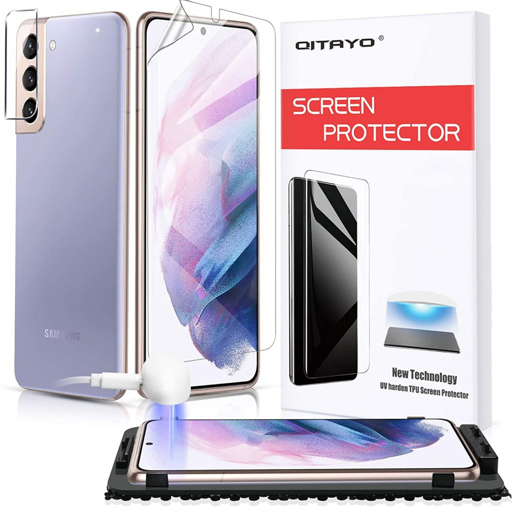 10 Best Screen Protectors For Samsung Galaxy S21+