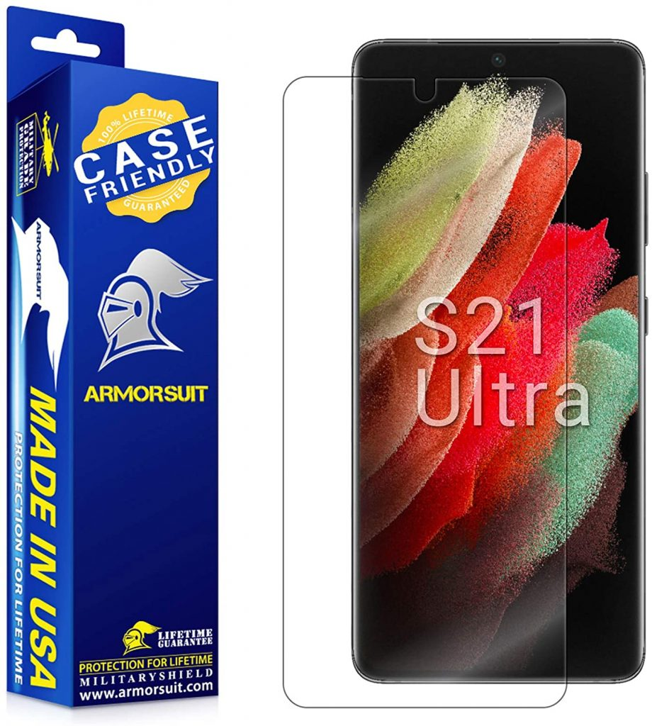 10 Best Screen Protectors For Samsung Galaxy S21 Ultra