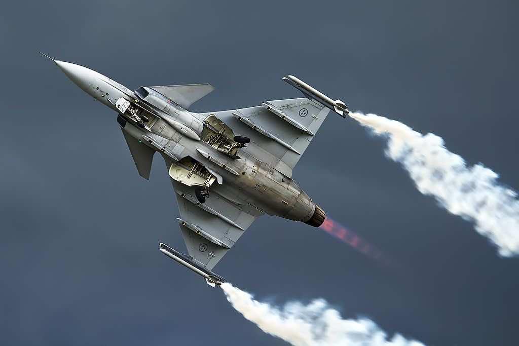 Sweden's Leading Fighter Jet
