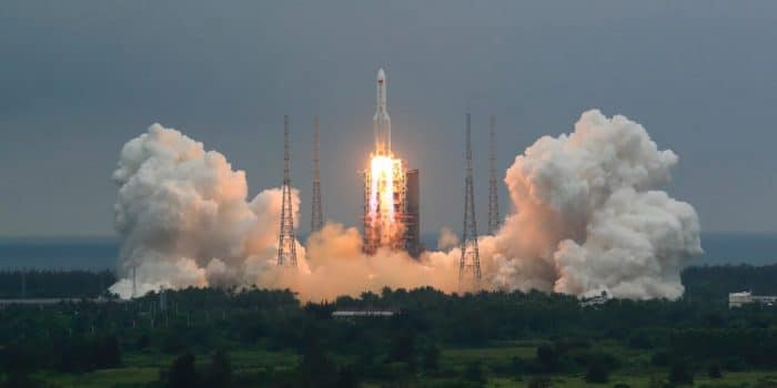 A Chinese Rocket Is Falling Back to the Earth Uncontrolled