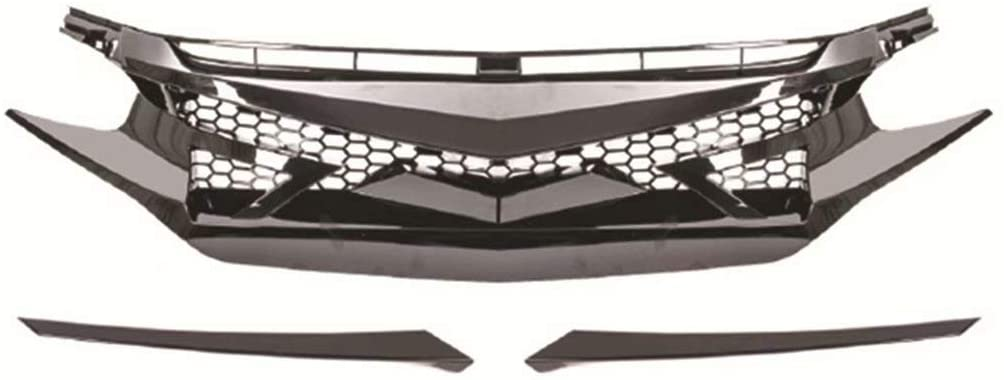 10 Best Front Grills For Honda Civic