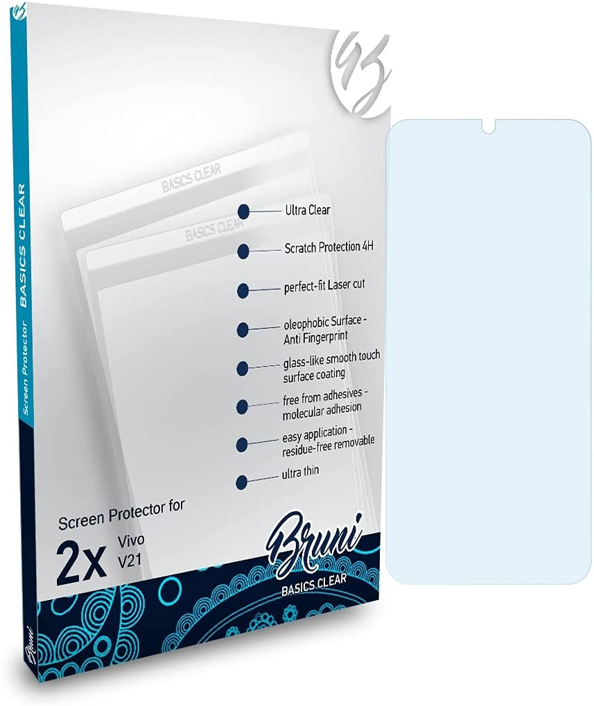 10 Best Screen Protectors For Vivo V21