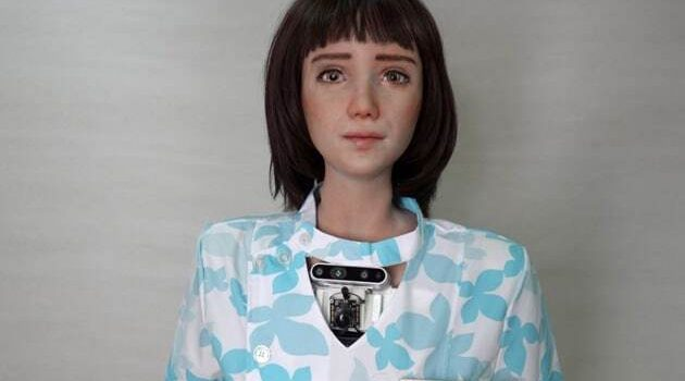 Meet Grace, The Robot Nurse That Seems Like A Real Person
