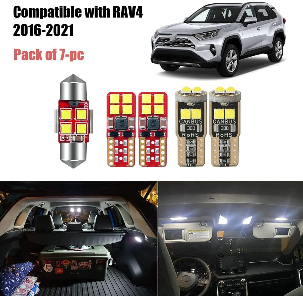 10 Best Interior Car Lights For Toyota RAV4