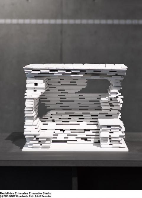 The model submission of Ensamble Studio (Photo: Adolf Bereuter)