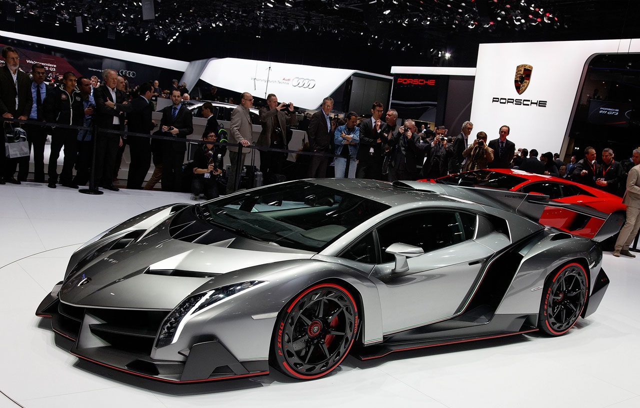 Lamborghini Unveils Its Ugliest Supercar For 4 Million