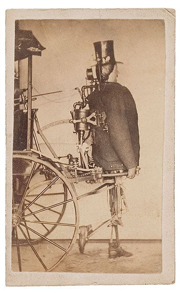 "From 1868. This is what started what will be the downfall of humans. ""Zadoc P. Dederick, along with Isaac Grass, was the creator of a steam-powered humanlike robot designed to pull a cart."""