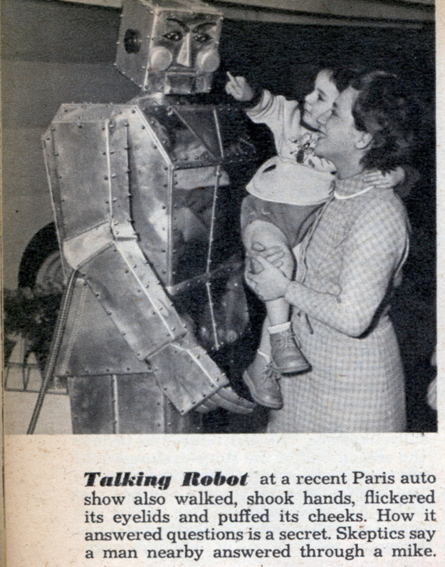 From 1952. Puffed its cheeks ?
