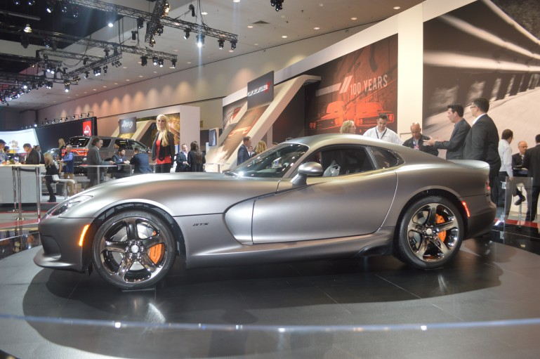 SRT will build just 50 models of the new special edition Viper