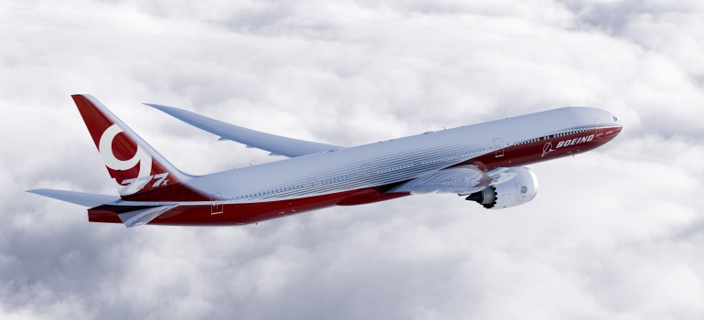 Ray Conner Commercial Airplanes President and CEO of Boeing, says the 777X will be 12 perc...