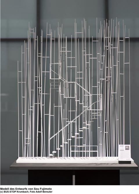 The model submission from Sou Fujimito (Photo: Adolf Bereuter)