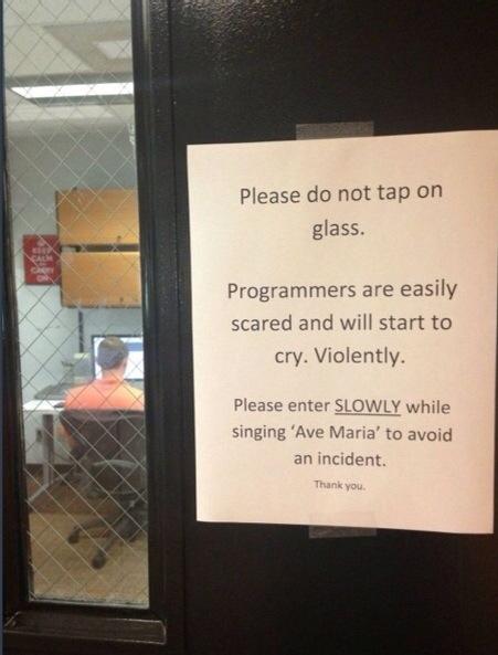 This warning.