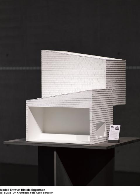 The model submission of Rintala Eggertson (Photo: Adolf Bereuter)
