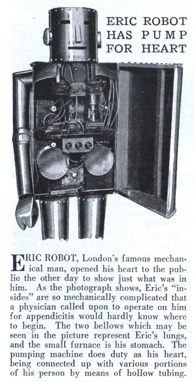"From 1929. Another fucking ""Eric"" also from London."
