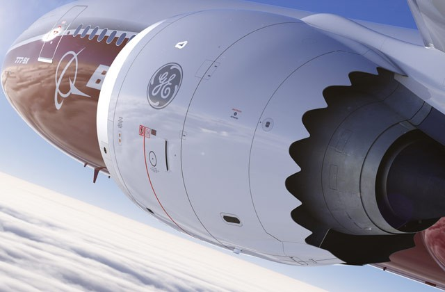 According to Boeing, the GE9X is the most advanced commercial engine ever