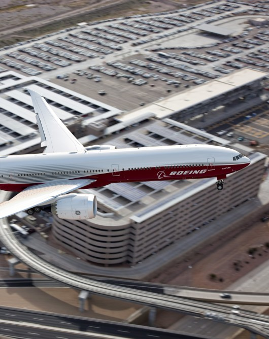 The 777X has already received a reported 342 orders