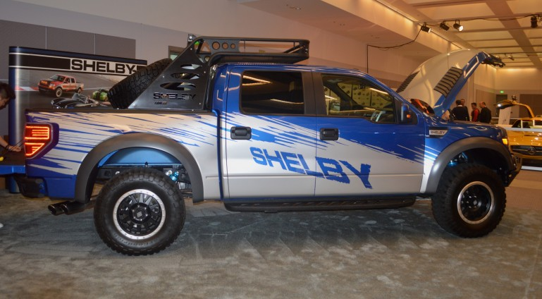 The 2013/14 Shelby Raptor debuted earlier in the year