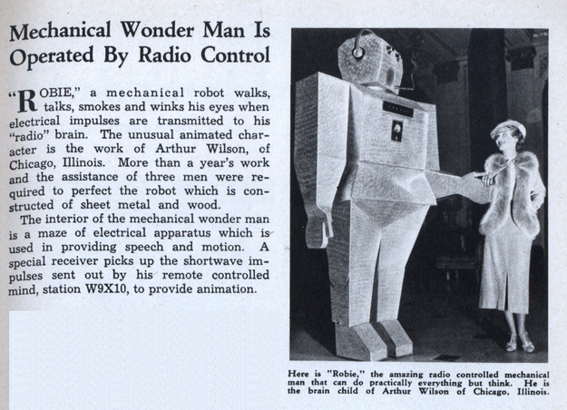 From 1936. Why did all these idiots make their robots bigger than us?